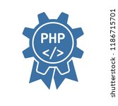 php programming. service.... | Shutterstock .eps vector #1186715701
