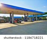 ptt life station  petrol... | Shutterstock . vector #1186718221