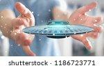 businessman on blurred... | Shutterstock . vector #1186723771