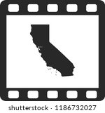 vector map of california | Shutterstock .eps vector #1186732027