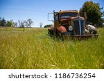 Abandoned Vintage Truck In...