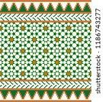 morocco seamless border.... | Shutterstock .eps vector #1186743277