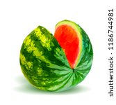 fresh  nutritious and tasty... | Shutterstock .eps vector #1186744981