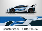 design  race  vehicle  vector ... | Shutterstock .eps vector #1186748857