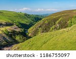 welsh landscape near the aled... | Shutterstock . vector #1186755097