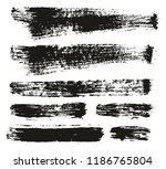 paint brush background   lines... | Shutterstock .eps vector #1186765804