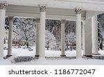 fragment of rudolf pramen... | Shutterstock . vector #1186772047
