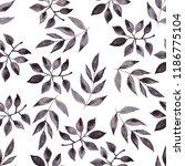 watercolor seamless pattern... | Shutterstock . vector #1186775104