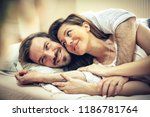 i enjoy your embrace. happy... | Shutterstock . vector #1186781764