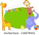 cartoon animal   Shutterstock .eps vector #118678441