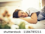 sleep well it s good for your... | Shutterstock . vector #1186785211