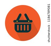 shopping flat icon   vector... | Shutterstock .eps vector #1186789081
