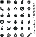 solid black flat icon set chili ...   Shutterstock .eps vector #1186850287