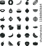 solid black flat icon set... | Shutterstock .eps vector #1186860664