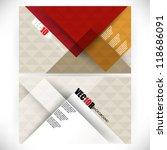 eps10 vector corporate concept... | Shutterstock .eps vector #118686091