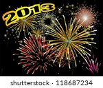 firework 2013 | Shutterstock .eps vector #118687234