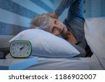 old woman suffering from... | Shutterstock . vector #1186902007