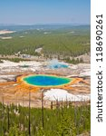 grand prismatic spring in... | Shutterstock . vector #118690261