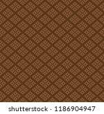 vector knitting seamless... | Shutterstock .eps vector #1186904947