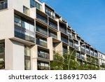 modern luxury residential... | Shutterstock . vector #1186917034