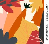 autumn design with abstract... | Shutterstock .eps vector #1186922254