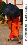 vientiane laos 04 06 13  a monk ... | Shutterstock . vector #1186941817
