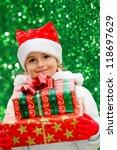 christmas  kid  christmas... | Shutterstock . vector #118697629