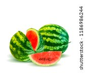 fresh  nutritious and tasty... | Shutterstock .eps vector #1186986244
