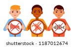 people of different... | Shutterstock .eps vector #1187012674