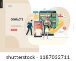 business series  color 1  ... | Shutterstock .eps vector #1187032711