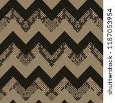 snake skin beige and brown... | Shutterstock .eps vector #1187053954