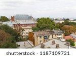 odessa  ukraine   sep. 09  2018 ...   Shutterstock . vector #1187109721