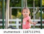 asian girls ages cute. asian... | Shutterstock . vector #1187111941
