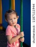 asian girls ages cute. asian... | Shutterstock . vector #1187111944