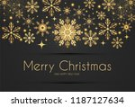 elegant christmas background... | Shutterstock .eps vector #1187127634