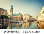 Hamburg Townhall And Alster...