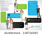 colorful template for... | Shutterstock .eps vector #118716565