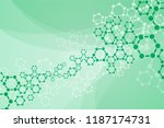 molecules concept of neurons... | Shutterstock .eps vector #1187174731