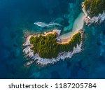 isle in the sea  | Shutterstock . vector #1187205784