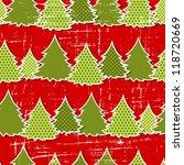 christmas seamless pattern in... | Shutterstock .eps vector #118720669