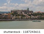 view of buda castle  the... | Shutterstock . vector #1187243611