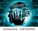 programmer  computer expert... | Shutterstock . vector #1187244544