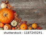Fall Pumpking Arrangement