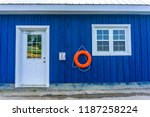 blue dockyard   aug 4  2018 | Shutterstock . vector #1187258224