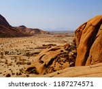 spitzkoppe  namib desert ... | Shutterstock . vector #1187274571
