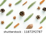christmas pattern. new year...   Shutterstock . vector #1187292787
