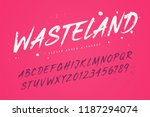 wasteland vector brush style... | Shutterstock .eps vector #1187294074