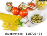 italian cooking | Shutterstock . vector #118729435