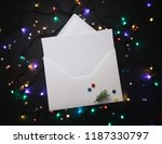 christmas or new year... | Shutterstock . vector #1187330797