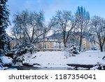 famous spa resort marianske... | Shutterstock . vector #1187354041